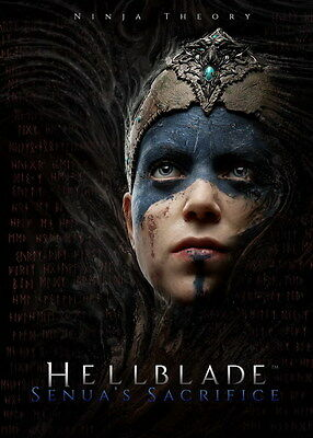 """007 Hellblade - Celtic Action Fight Game 14""""x19"""" Poster"""
