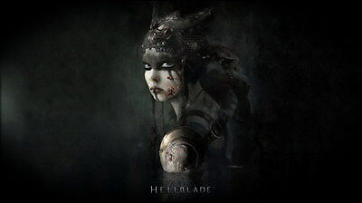 """008 Hellblade - Celtic Action Fight Game 42""""x24"""" Poster"""