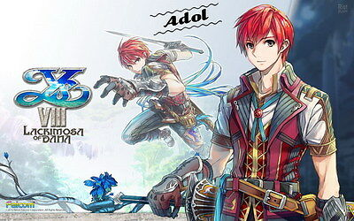 """007 Ys VIII - Moster Fight Game 38""""x24"""" Poster"""