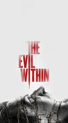 "007 The Evil Within - Ghost Survival Horror Shooting Game 24""x42"" Poster"