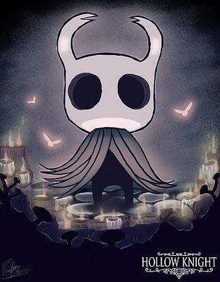 """010 Hollow Knight - ACT Action Game 24""""x30"""" Poster"""