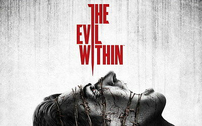 "012 The Evil Within - Ghost Survival Horror Shooting Game 38""x24"" Poster"