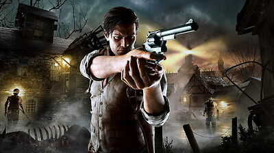 "013 The Evil Within - Ghost Survival Horror Shooting Game 42""x24"" Poster"