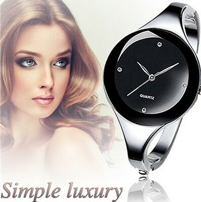 Luxury Brand Fashion Quartz Watch Women Stainless Steel Bracelet Analog