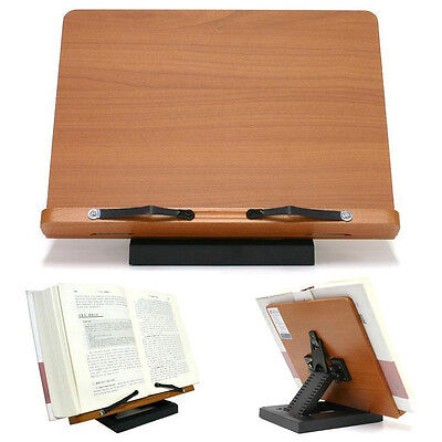 [Clover] Book Stand Bible Wooden Reading Holder Desk Bookstand cookbook