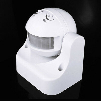 220-240V Outdoor Automatic Infrared PIR Human Motion Sensor Switch for LED Light