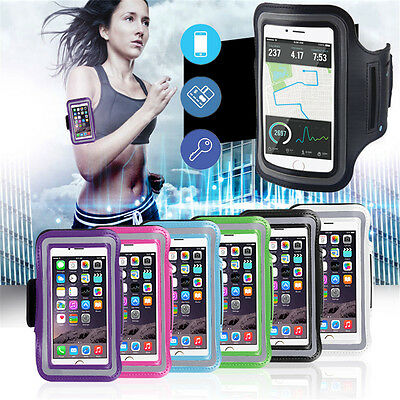 Sports Running Jogging Gym Armband Case Cover Holder For iPhone 8 X 7 6s Plus SE