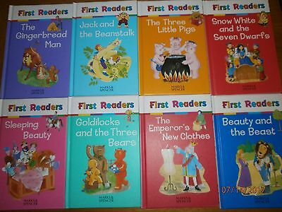 Young childrens reading learning  Marks And Spencer First Readers x 8 Books