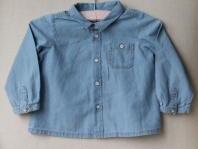 Bonpoint Baby Denim Shirt 12 Months