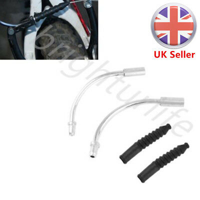 Bike V Brake Noodles Cable Guide Rubber Pipes Boots Bicycle Cycling Front&Rear