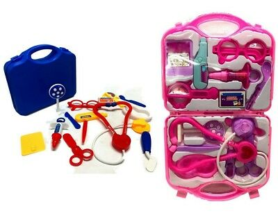 Kids Boys Girls Play Educational Doctor Case Kit Medical Set Hospital Supply Toy