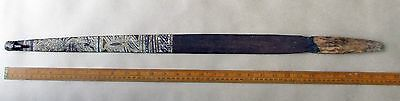 Aboriginal Carved Painted Woomera Spear Thrower Ochre Painted