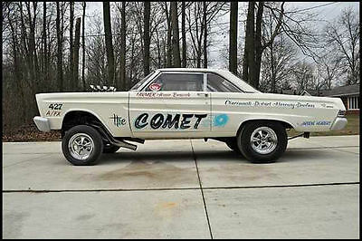 1965 Drag Racings Arnie Beswicks 65 Comet 1/25th scale model car decal