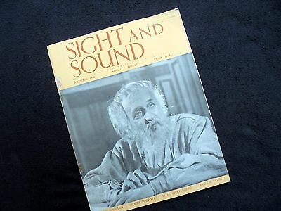 Old Movie Magazine: Sight And Sound~1948~Published By The British Film Institute