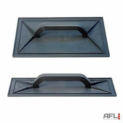 "Refina ABS Diamond Face Plastic Float 11"", 16"", 17"" Plaster OCR Render"