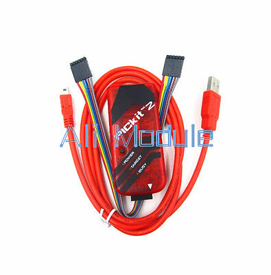 PIC Simulator Programmer Emluator USB Cable Red Color Dupond Wire PICKIT2 Kit2 K