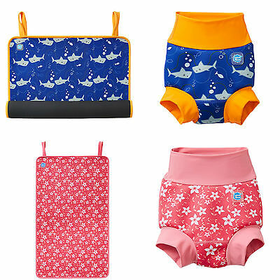 Splash About Baby Changing Roll Mat and Matching New Improved Happy Nappy