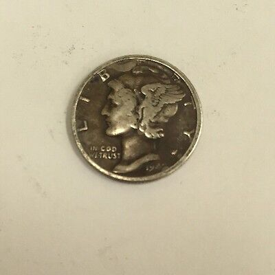 Vintage ONE DIME United States of America USA Dated 1942