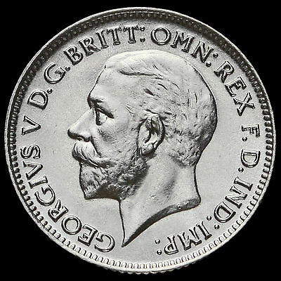 1930 George V Silver Sixpence, G/EF