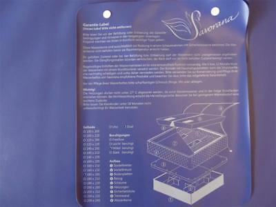 savorana Replacement Water Bed Mattress DUAL SOFTSIDE WATERBED mesamoll 2
