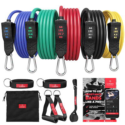 Widerstandsbänder Widerstandsband Set Resistance Band Set Expander Power Bands