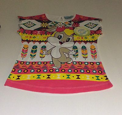 Brand New Girls Looney Tunes Top With Tags