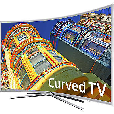 "Refurbished Samsung 55"" Curved Full HD LED TV 1080p 60Hz 3 HDMI USB HDTV"