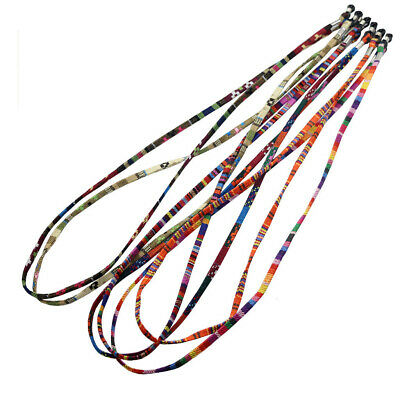 5pcs Boho Sunglasses Neck Cord Strap Eyeglass Glasses String Lanyard Holder