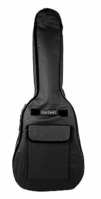 "Black Guitar Cover Case For Acoustic Electric Classical Guitars (Full Size, 41"")"