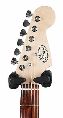 Black Automatic Bass Guitar Wall Mount For Ibanez Encore Chicago Tiger Rockburn