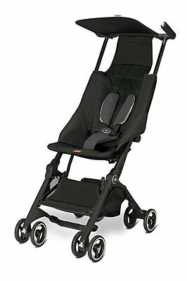 gb Pockit Stroller, Monument Black
