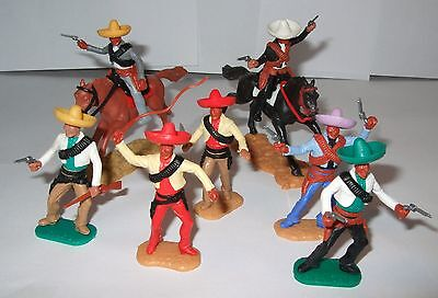 Timpo Mexicans 2 Mounted & 5 on foot
