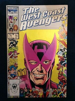 The West Coast Avengers #14 Marvel Comics