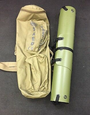 SKEDCO SKED Stretcher w/Tan Carrying Case Good Condition