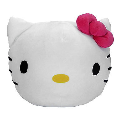"New Hello Kitty 3D Ultra Stretch 11"" Comfortable Travel Home Soft Cloud Pillow"