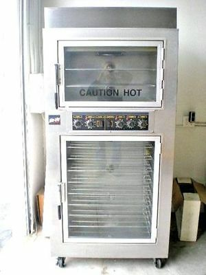 Nu-vu-SUB-123-Electric Oven Proofer Heat n Humidity 208v 3ph Good work condition