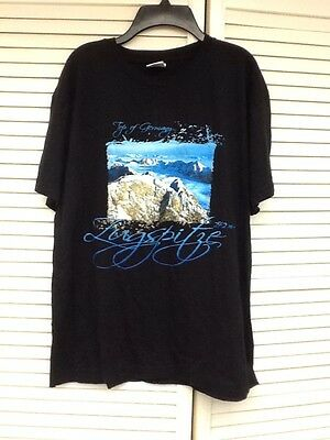 "Men's Large Black ""Top Of Germany"" Graphic Unisex, Stedman T-Shirt"
