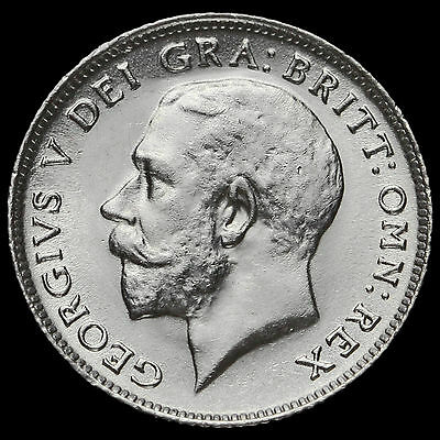 1919 George V Silver Sixpence, EF #2