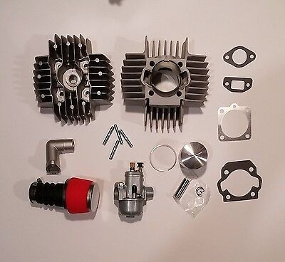 PUCH 70cc 45mm Speed Kit Hi Performance Big Bore Complete kit for ZA50 E50  moped • $174 99