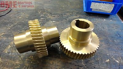 Lot Of 2 Helical Gears 49 Teeth
