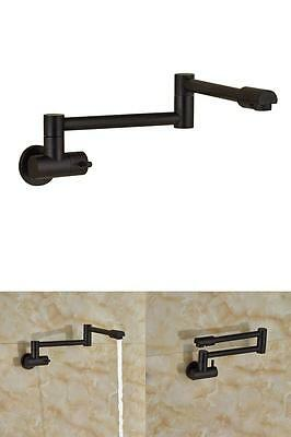 Articulating Kitchen Faucet Oil-Rubbed Bronze Lead-Free 360° Rotating Aerator