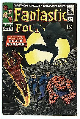 Fantastic Four #52 Vol 1 High Grade 1st Appearance of Black Panther