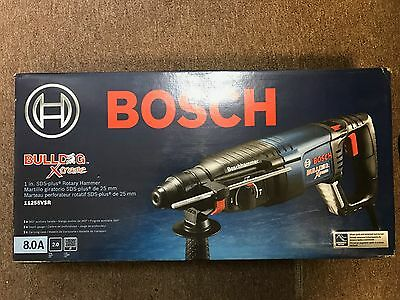 """*NEW* Bosch 8.0 Amp Corded 1"""" in. SDS-Plus Bulldog Xtreme Rotary Hammer"""