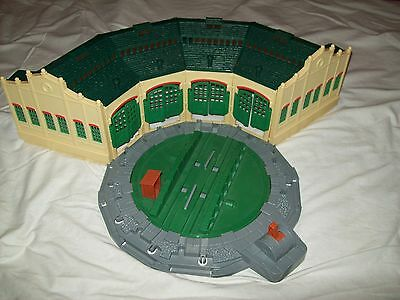 TIDMOUTH SHEDS WITH TURNTABLE TOMY TRACKMASTER THOMAS TANK ...