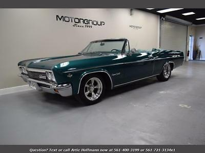1966 Chevrolet Other Convertible 1966 Chevrolet Impala SS Convertible, RARE Turquoise, Financing Available FL