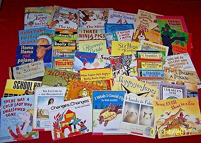 Huge Lot Teachers' Classroom Picture Books 120 ALL Scholastic Early Elementary