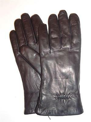 Ladies Isotoner Leather Thinsulate Gloves,XLarge,Blk-SEE DESCRIPTION FOR PICS