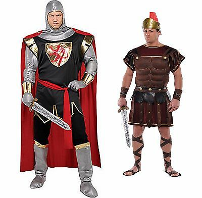Roman Solider or  Brave Crusader Knight  Adult Halloween Costume NEW