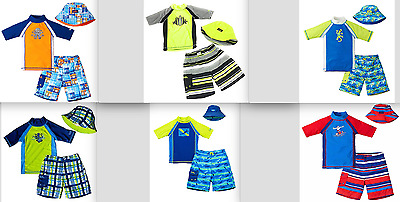 UV Skinz Boys' 3 Piece Swim Set UPF 50+ Sun Protection Variety Pattern/Size NEW!