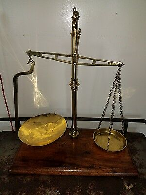 Vintage W&T Avery Makers Scale -Brass 1800's